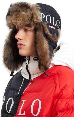 Ralph Lauren Polo By Winter Stadium Ear Flap Hat