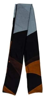 Akris Printed Cashmere & Silk-Blend Scarf