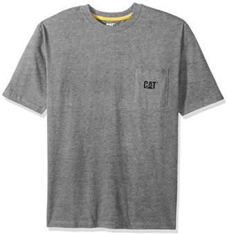 Caterpillar Men's Logo Pocket T-Shirt