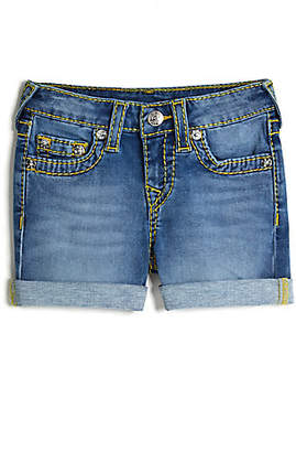 True Religion BIG KIDS SUPER T ROLLED SHORT