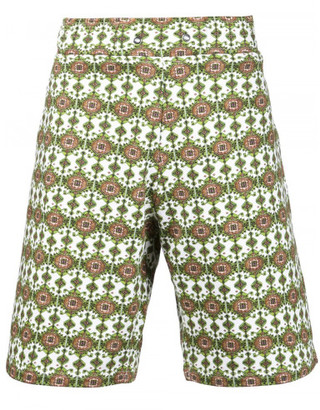 Givenchy Persian print bermuda shorts $895 thestylecure.com