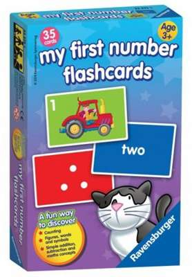Ravensburger My First Numbers Flash Card Flashcards