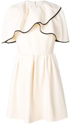 Valentino cold shoulder mini dress