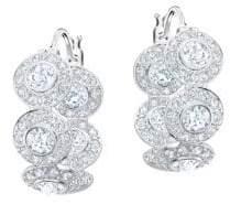 Swarovski Angelic Crystal Hoop Earrings