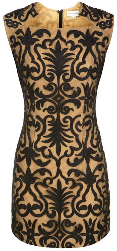 Rebecca Vallance The Parker embroidery dress