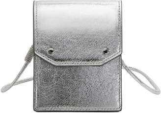 MANGO Waltero Metallic Mini Crossbody Bag
