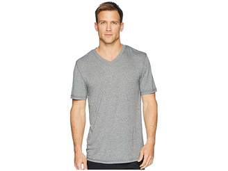 Jockey 50 Rayon/50 Poly Knit Short Sleeve V-Neck Tee