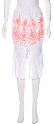 Melissa Odabash Embroidered Eyelet Mini Dress w/ Tags
