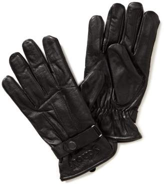 Schott NYC Men's Leather Gloves,Pack of 12