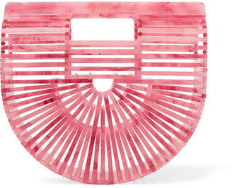 Cult Gaia Ark Small Acrylic Clutch - Pink