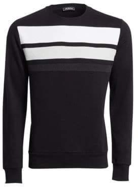 Saks Fifth Avenue MODERN Sponge Line Crewneck Sweater