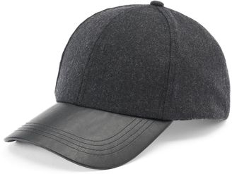 Women's Apt. 9® Wool Baseball Hat $28 thestylecure.com