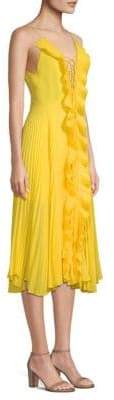 DAY Birger et Mikkelsen Delfi Collective Gwen Pleated A-Line Dress