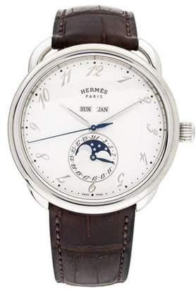 Hermes Arceau Grande Lune Watch