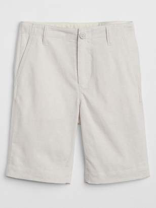 Gap Everyday Shorts in Linen-Cotton