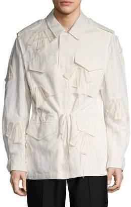 3.1 Phillip Lim Men's Fringed Parka Jacket