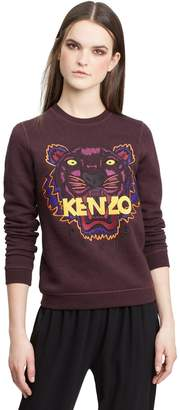 Kenzo Tiger Embroidered Cotton Pullover