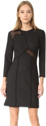 Jason Wu Long Sleeve Dress $1,495 thestylecure.com