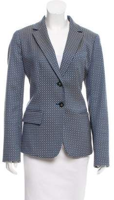 Max Mara Weekend Jacquard Notch-Lapel Blazer