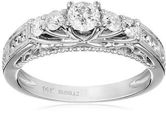 Kobelli 3/4 cttw Diamond 14k Gold Engagement Ring