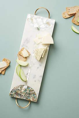 Anthropologie Nina Marble Cheese Board