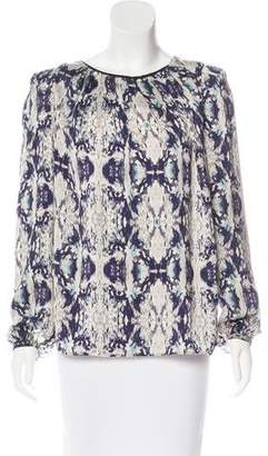 DAY Birger et Mikkelsen Printed Long Sleeve Top