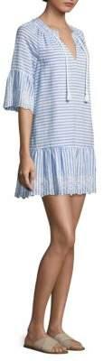 Vineyard Vines Ti Amo Stripe Eyelet Dress
