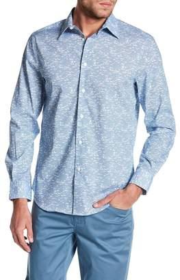 Perry Ellis Striped Regular Fit Shirt