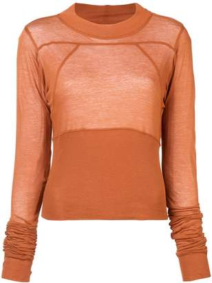 Rick Owens Cropped Plinth blouse