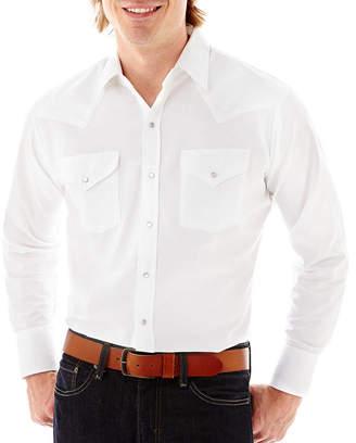 JCPenney Ely Cattleman Long-Sleeve Western Shirt