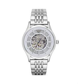 Emporio Armani Beta Silver Watch