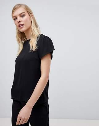 Oasis Cap Sleeve Minimal Blouse
