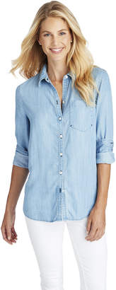 Vineyard Vines Chambray Chilmark Relaxed Button Down