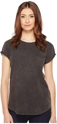 Alternative - Line-Dried Sun-Dried Wash T-Shirt Women's T Shirt $42 thestylecure.com