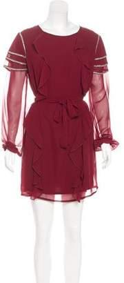 Tularosa Embellished Mini Dress w/ Tags