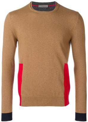 Manuel Ritz colour block jumper