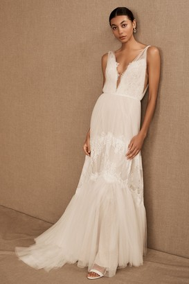 BHLDN Watters Betony Gown