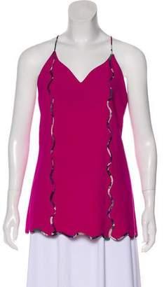 Mary Katrantzou Silk-Blend Sleeveless Top