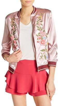 SWEET RAIN Floral Embroidery Jacket