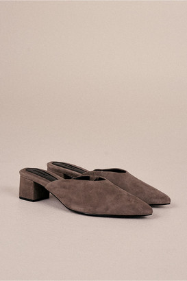 Jaggar The Label CORE SUEDE MULE gravel