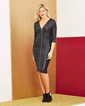 Fashion World Glitter Shaper Dress