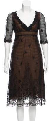 Isaac Mizrahi Vintage Midi Dress