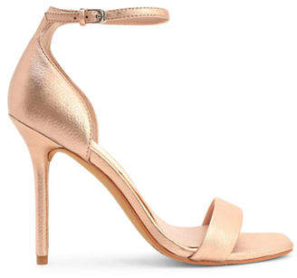 Dolce Vita Halo Leather Ankle Strap Sandals