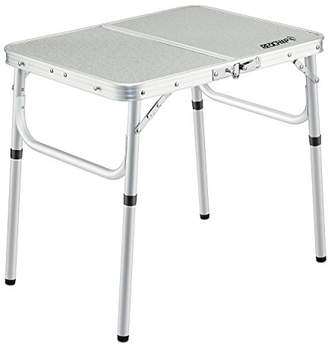 "REDCAMP Small Folding Table Adjustable Height 23.6""x15.7""x10.2""/19"""
