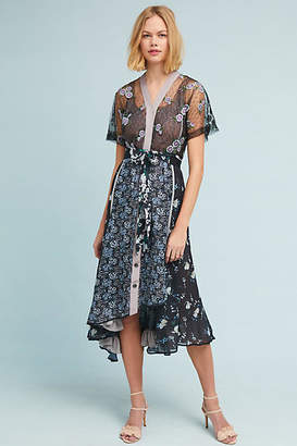 Byron Lars Cassie Floral Dress
