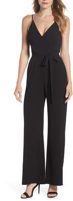 Charles Henry Belted Cami Jumpsuit