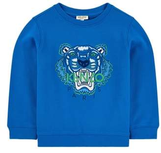 Kenzo Embroidered Tiger Logo Sweatshirt