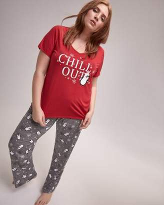 Penguin T-Shirt and Pants Pajama Set - Deesse Collection 14ce65b44