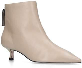 Stuart Weitzman Leather Juniper Boots 45