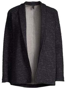 Eileen Fisher High Collar Jacket